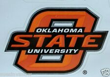Oklahoma State University 3 Large Decal Stickers Cowboys