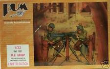 Bum 1:32 Machine Gun Group With Barbed Wire & Figures 1001