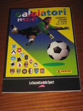 ALBUM CALCIATORI PANINI GAZZETTA DELLO SPORT 1992/93