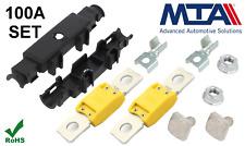 100A Mega Halter Set Megasicherung Sicherungshalter Flachsicherung Qualitätsware