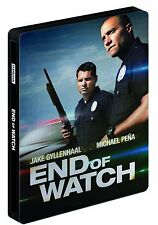 End Of Watch Bluray Limited Edition Steelbook Bluray + DVD Brand NEW SEALED
