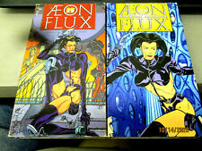 Lot Of 2 Aeon Flux & Aeon Flux Mission Infinite Mtv Vhs Tapes 1996 & 1997