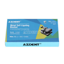 Dental Mim Self Ligating Brackets Braces Roth 0022 Hooks 3 4 5 Amp Buccal Tubes