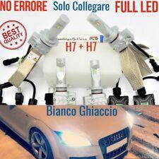 2 Kit FULL LED H7 Audi TT 8J Conversione ANABBAGLIANTI + ABBAGLIANTI CANbus fari