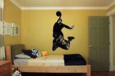 Wall Room Decor Art Vinyl Sticker Mural Decal Basketball Street Sport Fan FI399