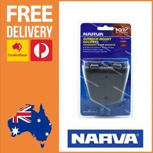 Narva Accessory and USB Socket Surface Mount Narva Heavy Duty Sockets 81168BL