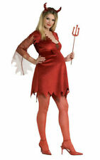 Adult Ladies Maternity Mummy to be DEVIL LADY Fancy Dress Halloween Costume