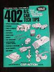 Vintage Radio Control Car Action ,agazine 402 R/C Car Tech Tips Book RC10 Pan