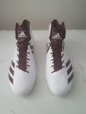 Adidas Football Cleats Mens Size 16 Maroon and White in Color new Without Box