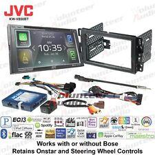JVC KW-V850BT Smartphone Compatible Touchscreen Radio w/ CarPlay + Install parts