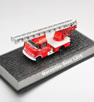 1/72 Atlas Alloy Diecast Fire Truck Car Model Mercedes L319 Vehicle Toy Gift