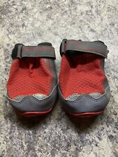 Ruffwear Grip Trex Set Of 2 Dog Boots In Red Currant In Sz 3.25� (new/other)