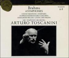 Brahms: 4 Symphonies; Haydn Variations; Overtures; Double Concerto; Libeslieder-