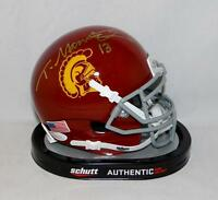 Todd Marinovich Autographed USC Trojans Schutt Mini Helmet- JSA Witnessed Auth