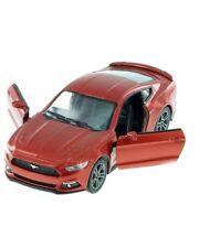 "New 5"" Kinsmart 2015 Ford Mustang GT Diecast Model Toy Car 1:38 Orange"