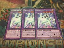 Yu-Gi-Oh Elemental HERO Glow Neos LCGX-EN061! Rare! 1st!! X3!!