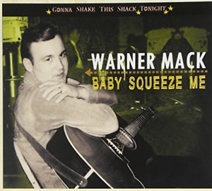 Mack, Warner-Gonna Shake This Shack Tonight - Baby Squeeze Me (US IMPORT) CD NEW
