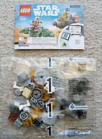 LEGO Star Wars - 75228 Bag 1 w/ Instructions - Escape Pod R2-D2 & C-3PO Only