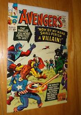 AVENGERS #15 BATTLE COVER  NICE 9.0/9.2 W/OW PAGES