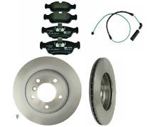 2 Pack MEYLE Rear Brakes Disc Rotors Back Pagid Brake Pad Set Kit for BMW