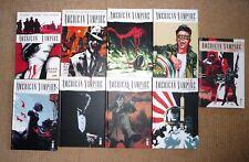 american vampire 1 a 8 + legacy 1 albuquerque snyder urban comics