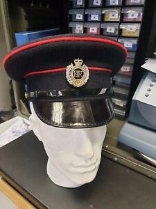 British Army Royal Peaked Cap Hat Dress Military Uniform Royal Engineers MOD UK
