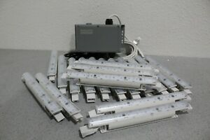 Lot of 18 Philips LS421X LED3-RGB iColor Wide Cove Fixtures & Data Enabler Pro
