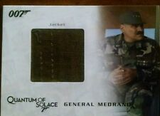 007 JAMES BOND in MOTION QC06 GENERAL MEDRANO'S JACKET COSTUME CARD 523/850