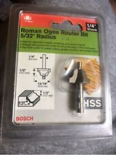 bosch roman ogee router bit 5/32 radius 2609251005
