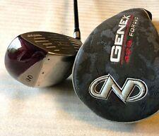 Nickent Genex 425 Forged 8° Driver SpeedRated 55  Golf Club stiff graphite shaft
