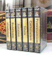 WORLD'S GREAT RELIGIONS - Easton Press Hindu, Buddhism, Islam, Judaism SEALED