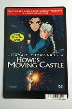 HOWL'S MOVING CASTLE ANIME HAYAO MIYAZAKI MINI POSTER BACKER CARD (NOT a movie )