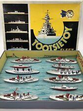 "C. 1939 Tootsietoy ""Fleet"" Set #5700 with original Nice box and insert Mint !"