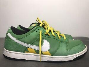 "Rare Nike SB Dunk Low ""Tokyo Green Taxi"" 2006 Size 11.5 Men"