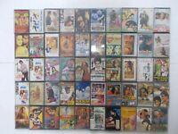 BOLLYWOOD LOT 50 X Cassette Audio Tapes RARE Hindi aaj ka arjun/hum/masoom/safar