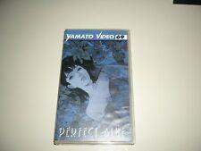 VHS PERFECT BLUE -1  EDIZIONE ANIME DYNAMIC  HENTAI OVA GO NAGAI MAZINGA MANG