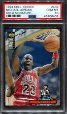 1994 Collectors Choice Gold Signature Michael Jordan PSA 10 #402