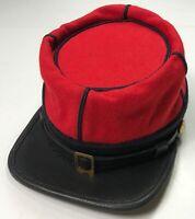 CIVIL WAR US UNION INFANTRY STATE MILITIA WOOL KEPI FORAGE CAP HAT-XLARGE
