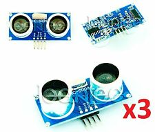 3x SENSOR DE DISTANCIA ULTRASONIDO HC-SR04. Ideal para Arduino. Raspberry pi.