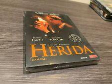 LA HERIDA DVD JEREMY IRONS JULIETTE BINOCHE DAMAGE   PRECINTADA