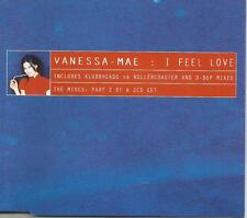 VANESSA MAE I feel Love 3TRX w/ 2 RARE MIXES & SINGLE version CD single SEALED