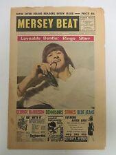ORIGINAL Mersey Beat Aug 1964 Vol 3 No 89 Liverpool Newspaper -The Beatles Ringo