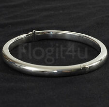 Mappin & Webb Sterling Silver 925 Hallmark 5mm Wide Bangle Bracelet