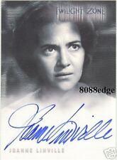 "2003 TWILIGHT ZONE AUTO CARD: JOANNE LINVILLE #A68 AUTOGRAPH ""STAR TREK"""