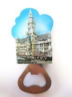 Hamburg Rathaus Magnet Flaschenöffner Poly Souvenir Germany ,Neu