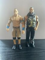 WWF WWE Basic Mattel Wrestling Figures Bundle Firefly Fun House Bray Wyatt Cena