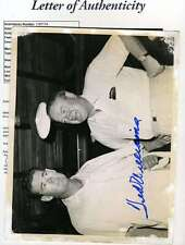 Ted Williams Jsa Coa Signed Original 7x9 Photo Authenticated Autograph