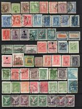 GREECE COLLECTION - 19 Pages of Good/Fine Used Stamps (731 TOTAL)