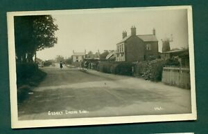 GEDNEY DROVE END NO 1141 WITH WINDMILL,CAMBRIDGESHIRE,vintage postcard
