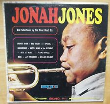 Jonah Jones and Selections by The River Boat Six, LP Vinyl, G1473 1960 VG